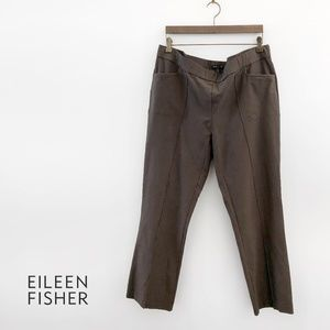 EILEEN FISHER  Stretch-Crepe Seam Pants 100284